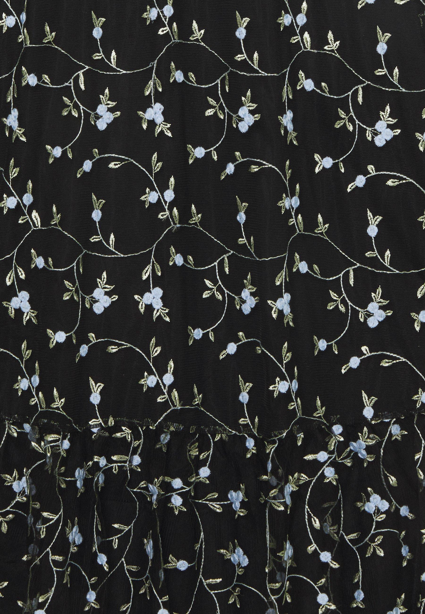 EDITED NORINA DRESS Maxikleid mischfarben/schwarz