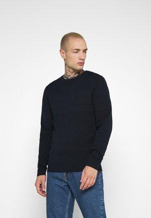 SAILOR - Stickad tröja - navy blazer