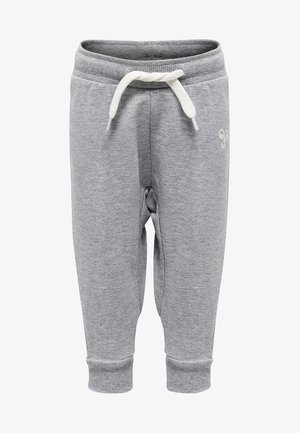 HMLAPPLE - Tracksuit bottoms - grey melange