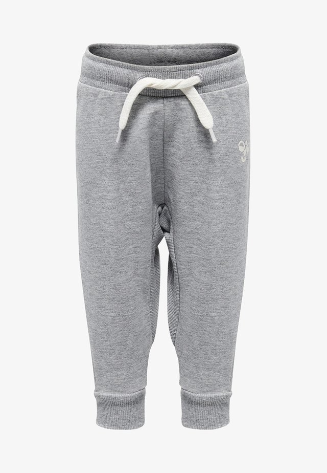 HMLAPPLE - Trainingsbroek - grey melange