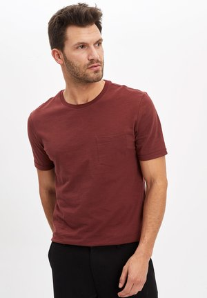 T-shirts basic - brown