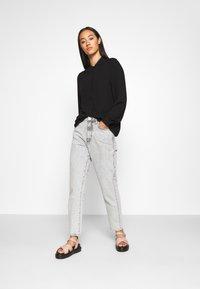 Vero Moda - VMESTHER - Button-down blouse - black - 1