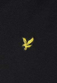 Lyle & Scott - ZIP THROUGH HOODIE - Zip-up sweatshirt - jet black - 6