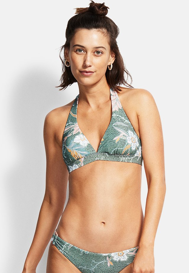 BALINESE RETREAT  - Bikini top - olive leaf