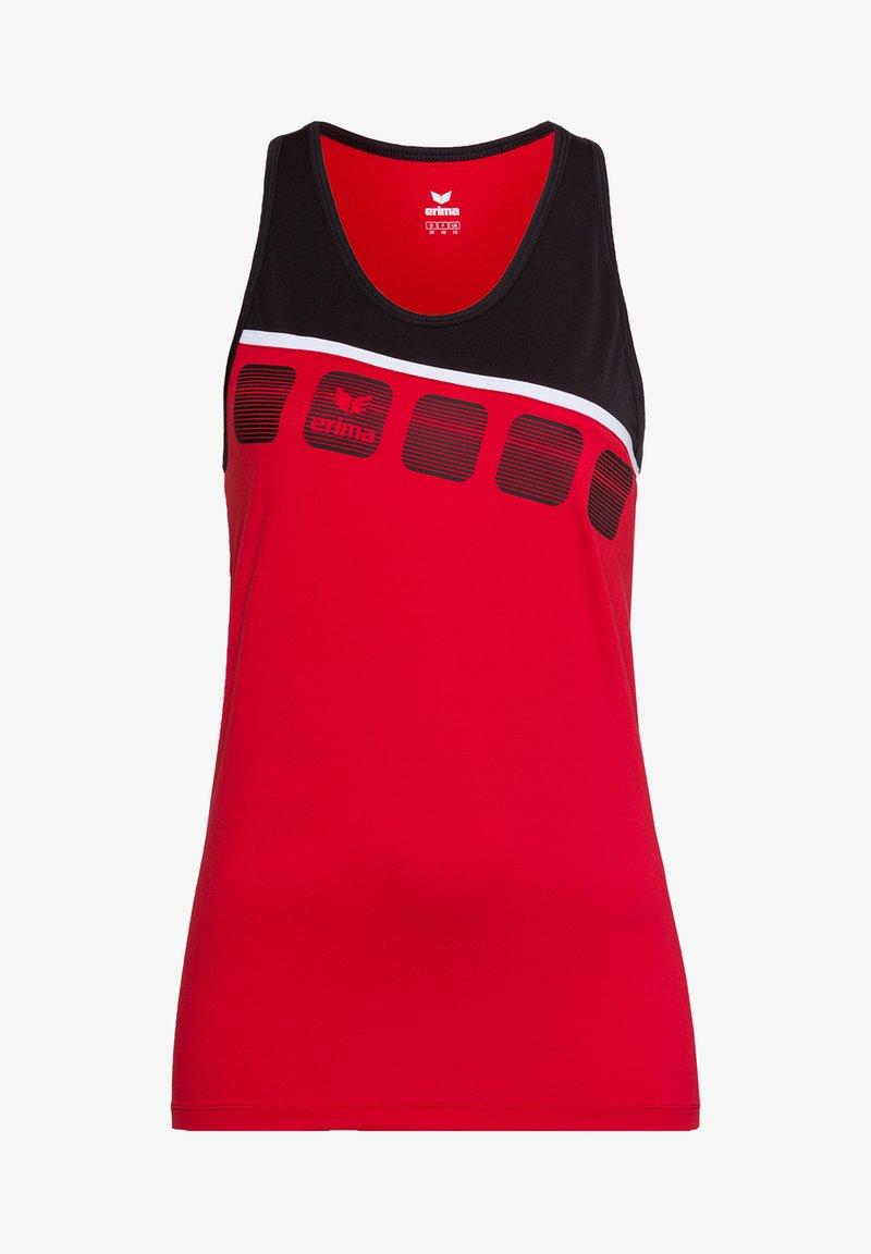 Erima - 5-C TRAININGSTANK KINDER - Top - rot / schwarz / weiß