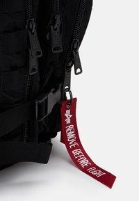 Alpha Industries - TACTICAL BACKPACK UNISEX - Rucksack - black - 3