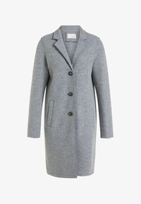 Oui - Classic coat - grey - 0