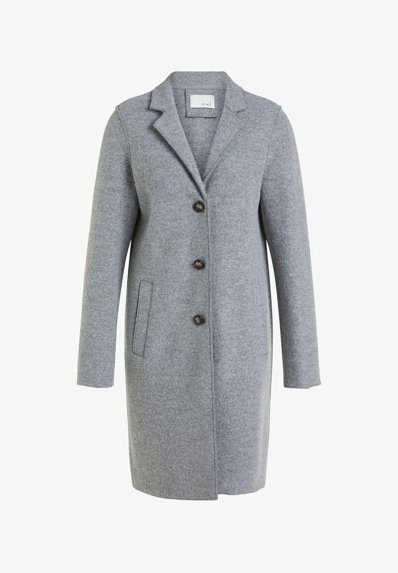 Oui - Classic coat - grey