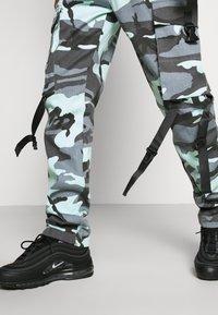 Sixth June - CAMO STRAP PANTS - Cargo trousers - blue - 4