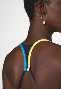 Polo Ralph Lauren - PLUNGE HALTER BRA - Bikini top - black - 5