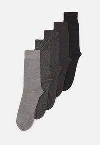 Pier One - 5 PACK - Socks - dark grey - 0