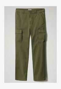 Napapijri - MOTO - Cargo trousers - green cypress - 3