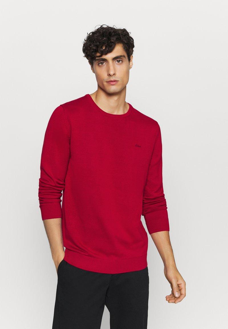 s.Oliver - Trui - dark red