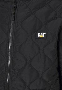 Caterpillar - ICONIC CAT JACKET - Kurtka przejściowa - black - 2