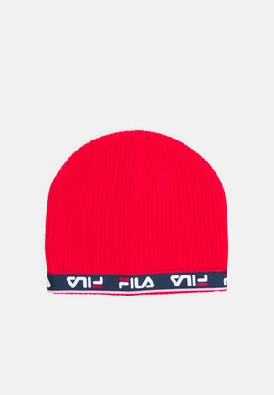 TAPED BEANIE UNISEX - Čepice - true red