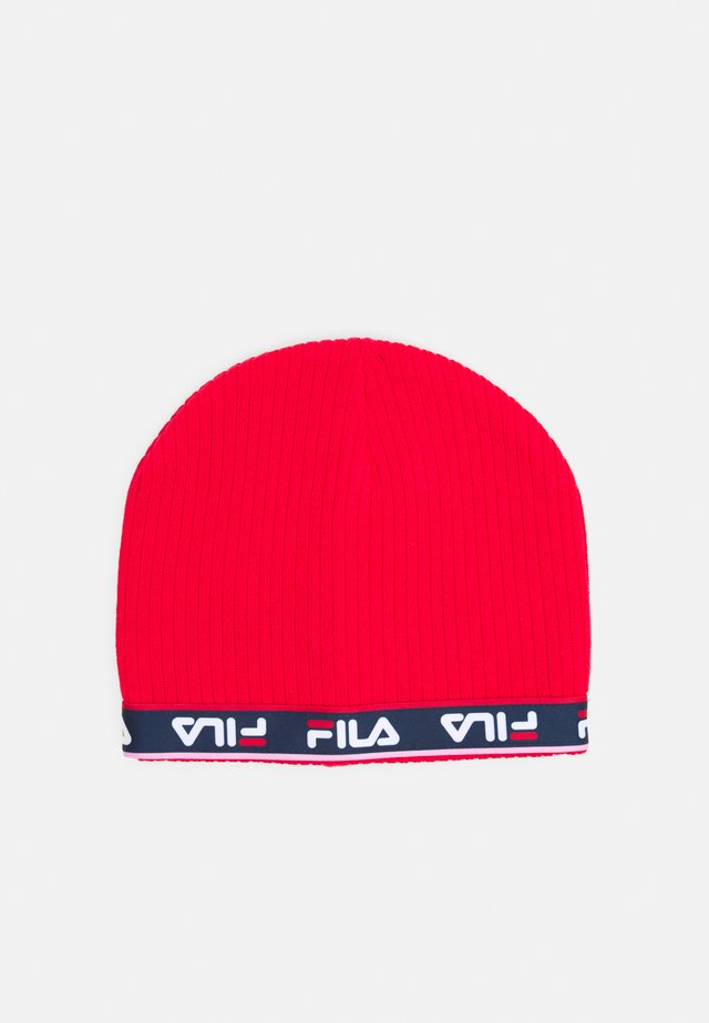 TAPED BEANIE UNISEX - Beanie - true red