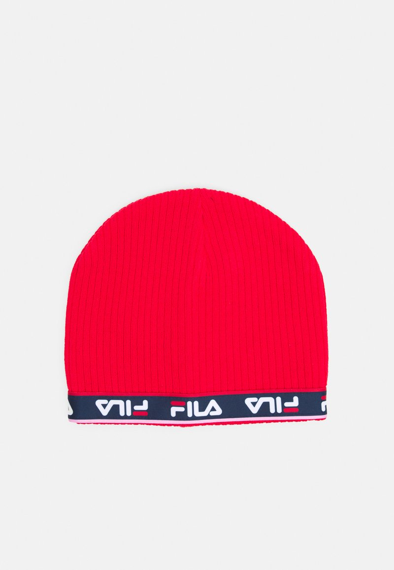 Fila - TAPED BEANIE UNISEX - Beanie - true red