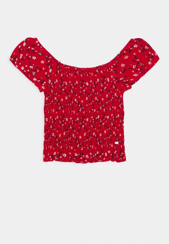 FARRAH - T-shirt imprimé - red