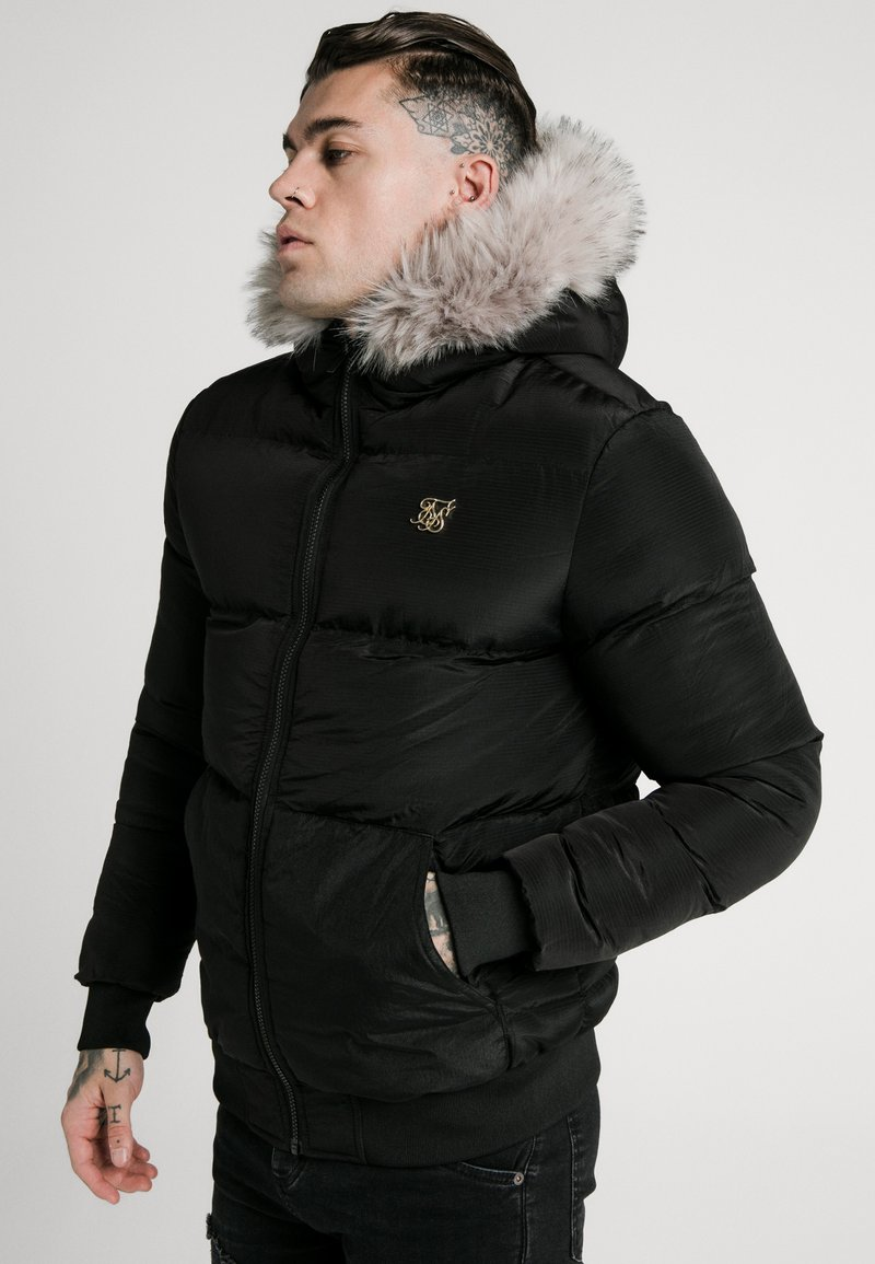 SIKSILK - DISTANCE JACKET - Winter jacket - black