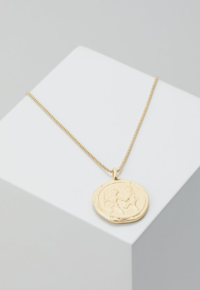 NECKLACE LIBRA ZODIAC SIGN - Collana - gold-coloured