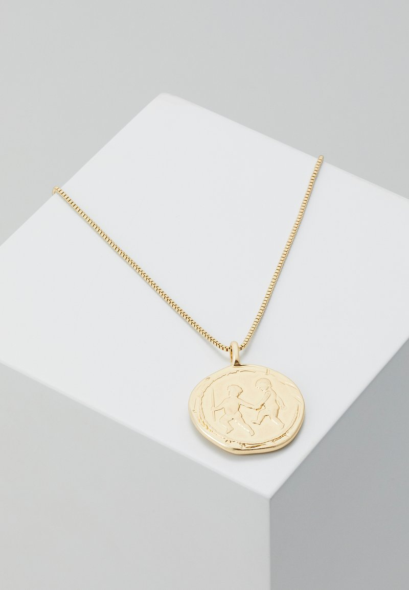 Pilgrim - NECKLACE LIBRA ZODIAC SIGN - Necklace - gold-coloured