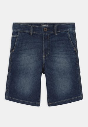 CARPENTER - Denim shorts - blue