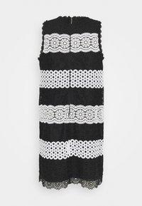 kate spade new york - FLORAL DOT SHIFT DRESS - Denní šaty - black - 1