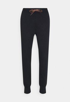 GENTS LOGO EMBROIDERED - Teplákové kalhoty - black