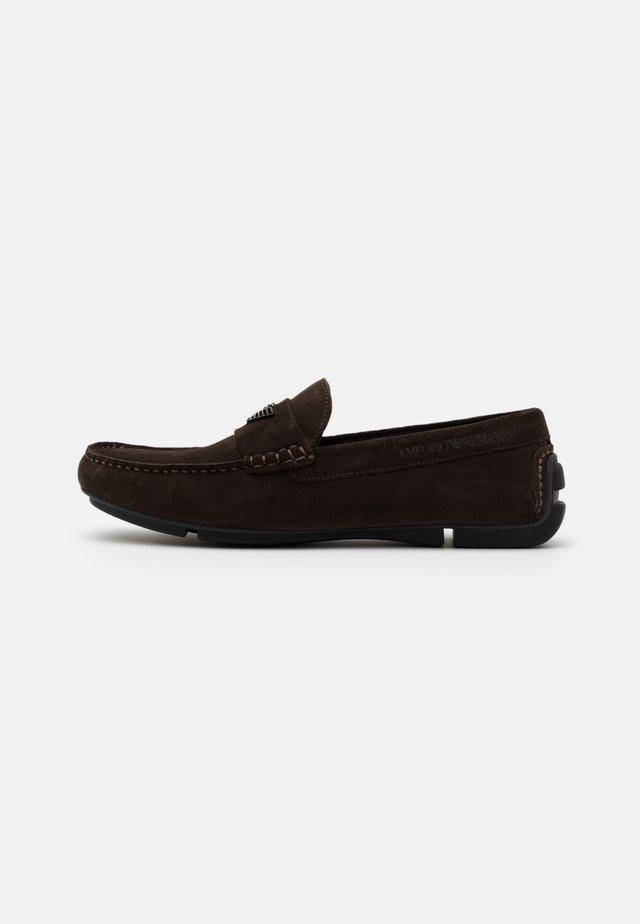 ZINOS - Moccasins - dark brown