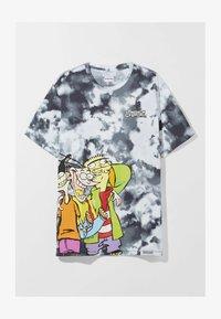 Bershka - Print T-shirt - black - 4