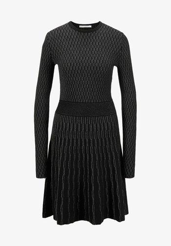 GEORGE RS UNI MC - Jumper dress - black