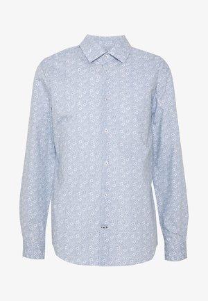 FLORAL PRINT SLIM FIT - Shirt - blue