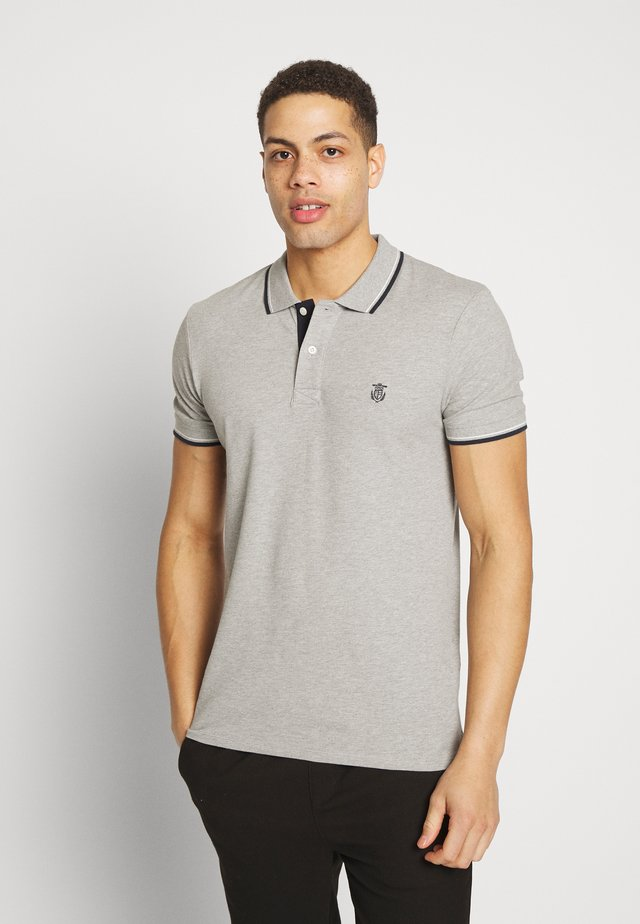 SLHNEWSEASON - Polo shirt - medium grey melange