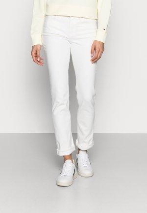 SOFT ROME STRAIGHT - Straight leg jeans - white