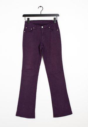 Bootcut jeans - purple