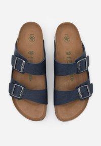 Birkenstock - VEGAN ARIZONA - Pantoffels - saddle/navy - 3