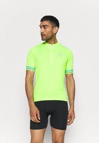 ODLO - STAND UP COLLAR ZIP ESSENTIAL - Cycling Jersey - lounge lizard - 0