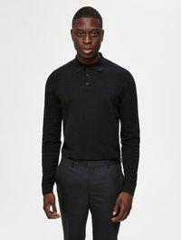 Selected Homme - PIMA - Polo shirt - black - 0
