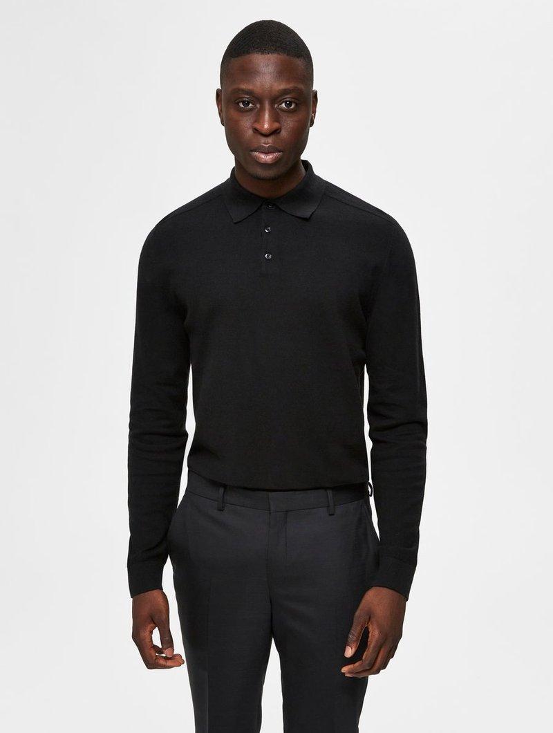 Selected Homme - PIMA - Polo shirt - black
