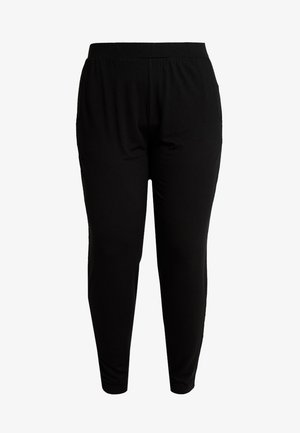 TAPERED TROUSERS - Pantaloni - black