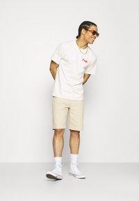 HUF - MOROCCAN TILE TEE - Print T-shirt - natural - 1
