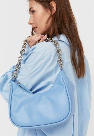 Handbag - mottled blue