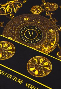 Versace Jeans Couture - REGALIA BAROQUE SCARF - Halsdoek - nero - 4