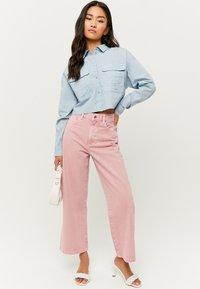 TALLY WEiJL - MIT KNÖPFE - Button-down blouse - blue - 1