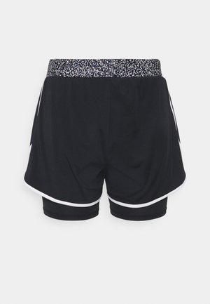 ONPJUDIEA TRAIN SHORTS CURVY - Sports shorts - black