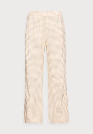 JIMMY PANTS - Pantalon classique - beige check