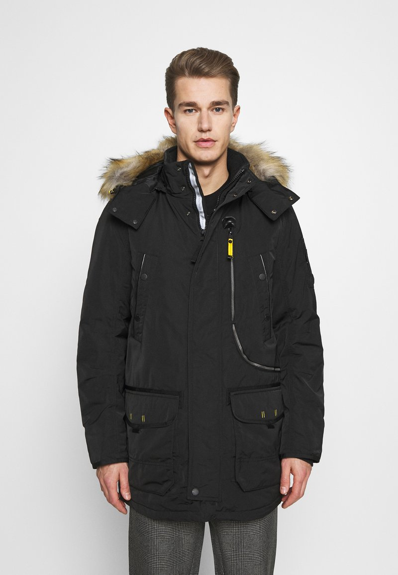 TOM TAILOR - Winter coat - black