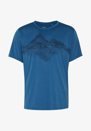 CROSSTRAIL GRAPHIC - Print T-shirt - indigo blue