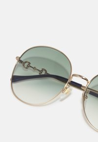 Gucci - Sunglasses - gold-coloured/green - 3