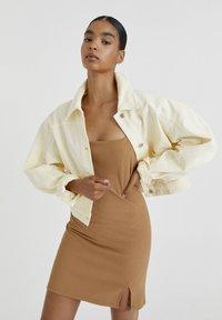 PULL&BEAR - Summer jacket - beige - 0